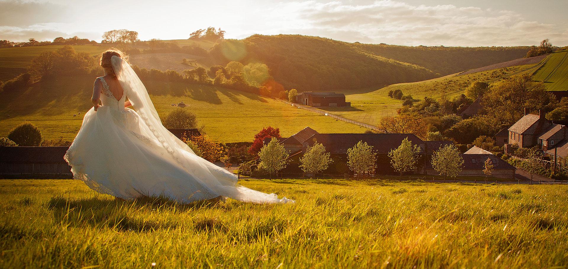 Distinctive wedding photography