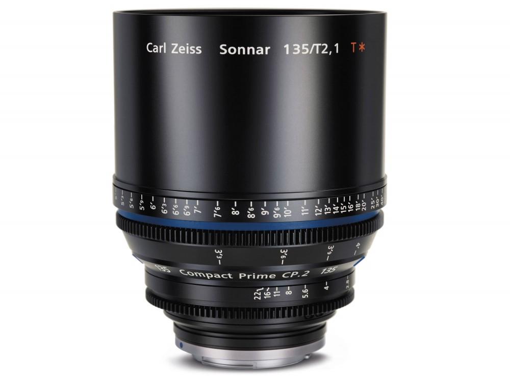 Zeiss Compact Prime CP.2 135mm T/2.1 Lens - PL Mount