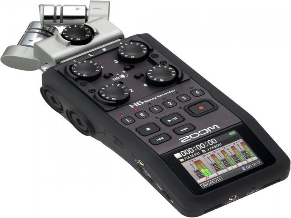 Zoom H6 Digital Recorder