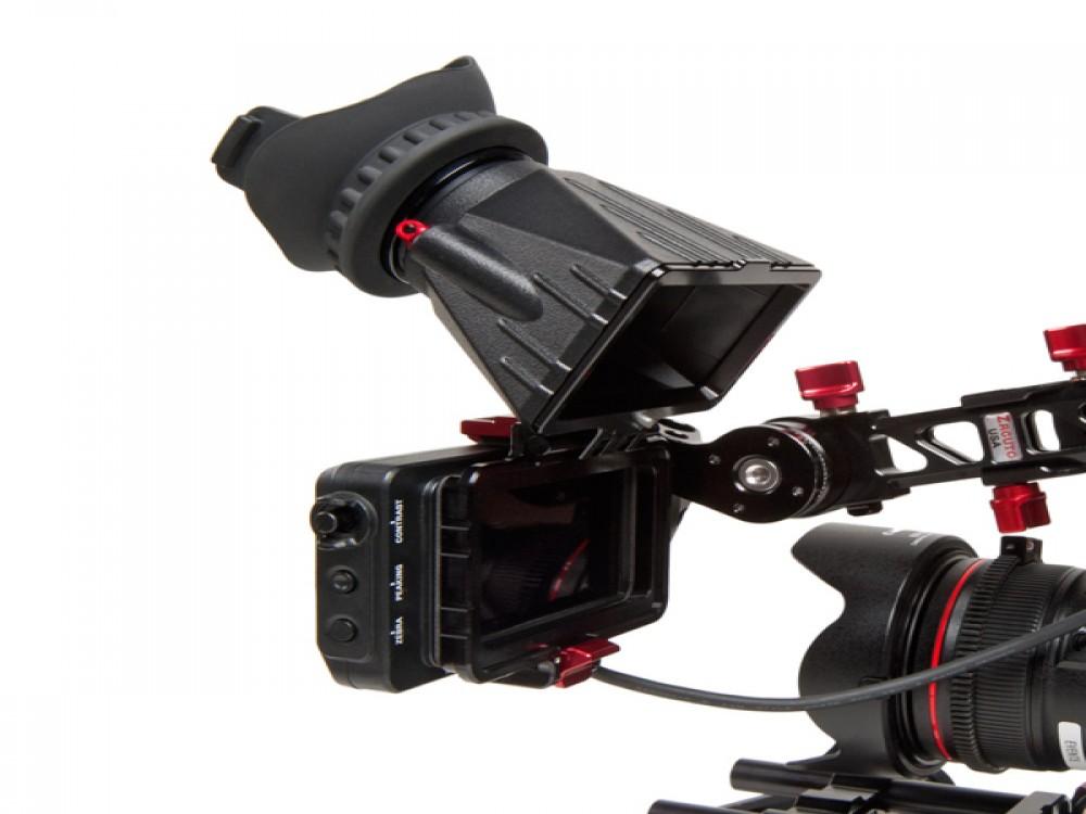 Zacuto Z-Finder with Flip-Up Frame for Sony FS7