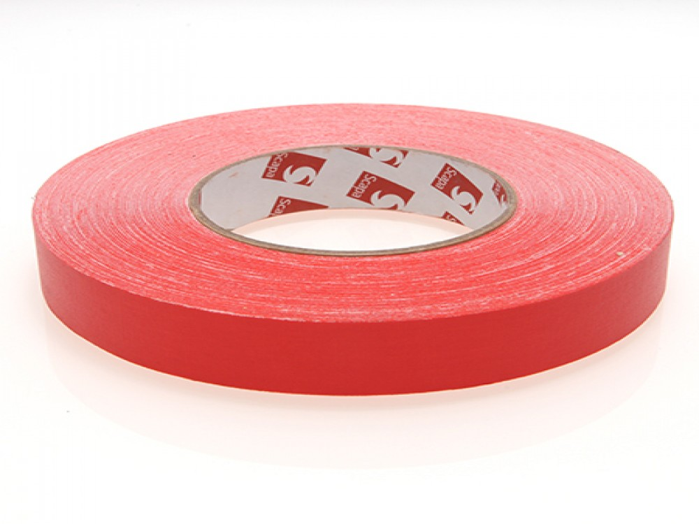 """Scapa 1"""" Red Camera Tape"""