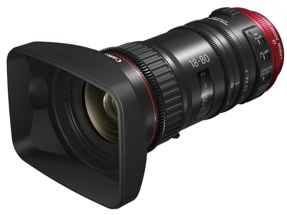 Canon CN-E 18-80mm T4.4 - 4K Lens