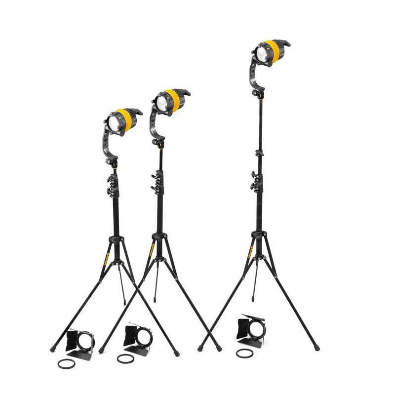 Dedolight 3-Head Basic LED Bi Colour Kit