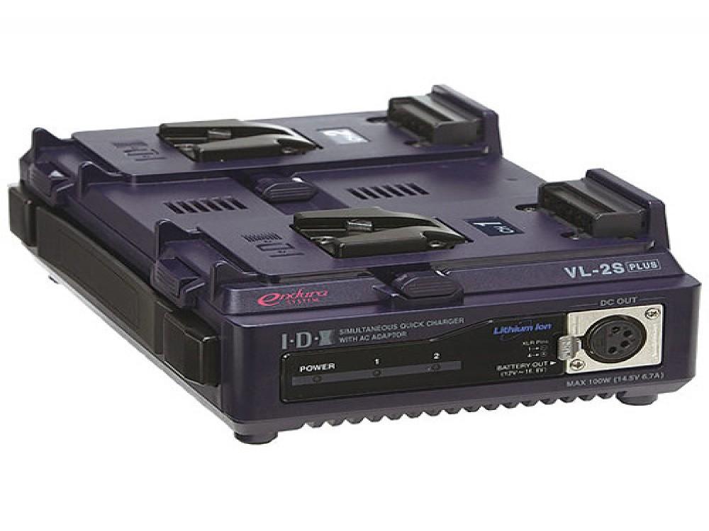 IDX VL-2SPlus (VL-2S) 2-Channel Endura Simultaneous Fast Charger