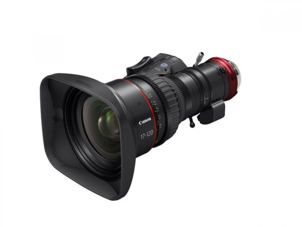 Canon CN7x17 17-120mm 4K Cine-Servo Lens