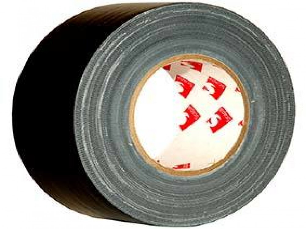"Scapa 2"" Black Gaffer Tape (Shiny/Economy)"