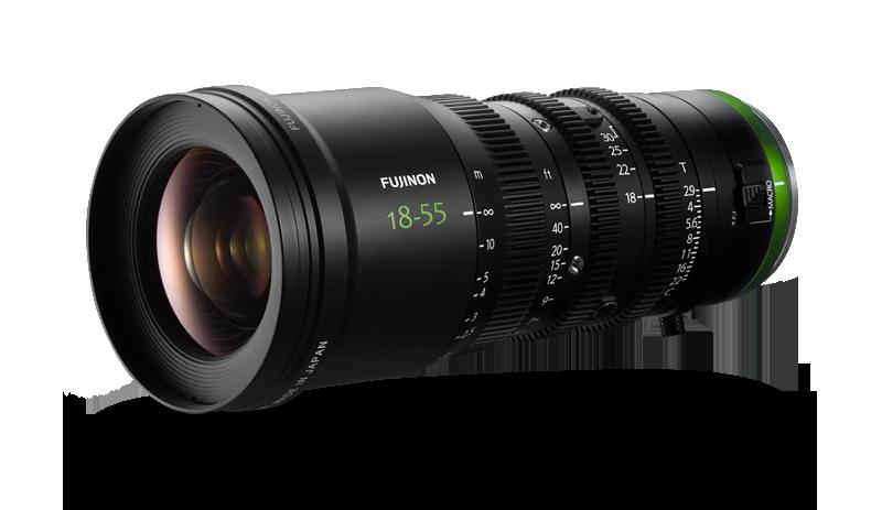 Fujinon MK 18-55mm T2.9 Sony E-Mount Cabrio Zoom Lens
