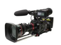 Sony PXW-FS7 with Canon CN7x17 17-120mm 4K Cine-Servo Lens - PL Mount