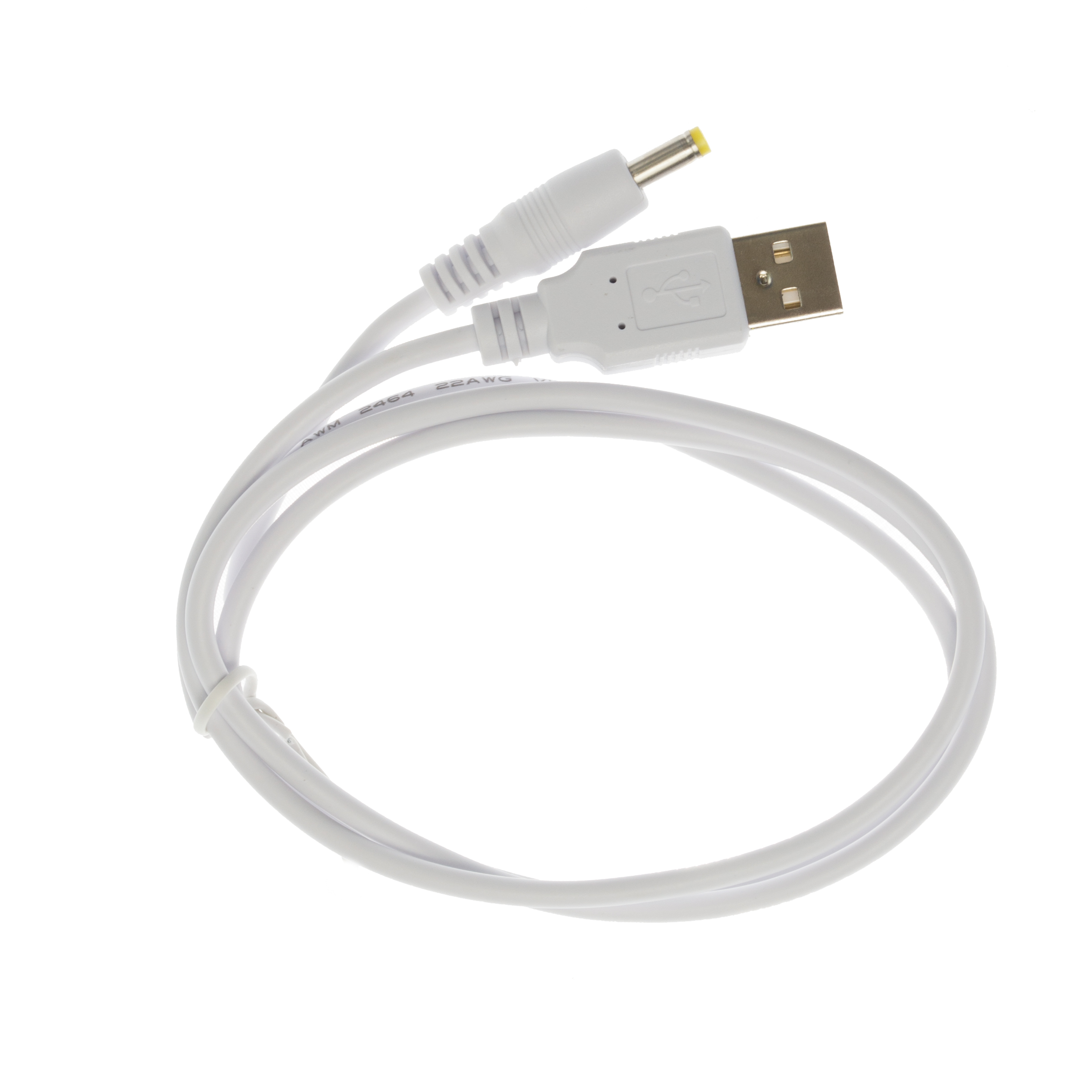 90cm-USB-5V-White-Charger-Power-Cable-Adaptor-for-Exposure-Diablo-MK7-Bike-Light