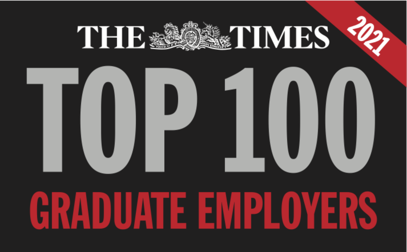 Times Top 100 Graduate Employers 2021
