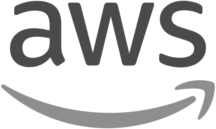 AWS Logo greyscale