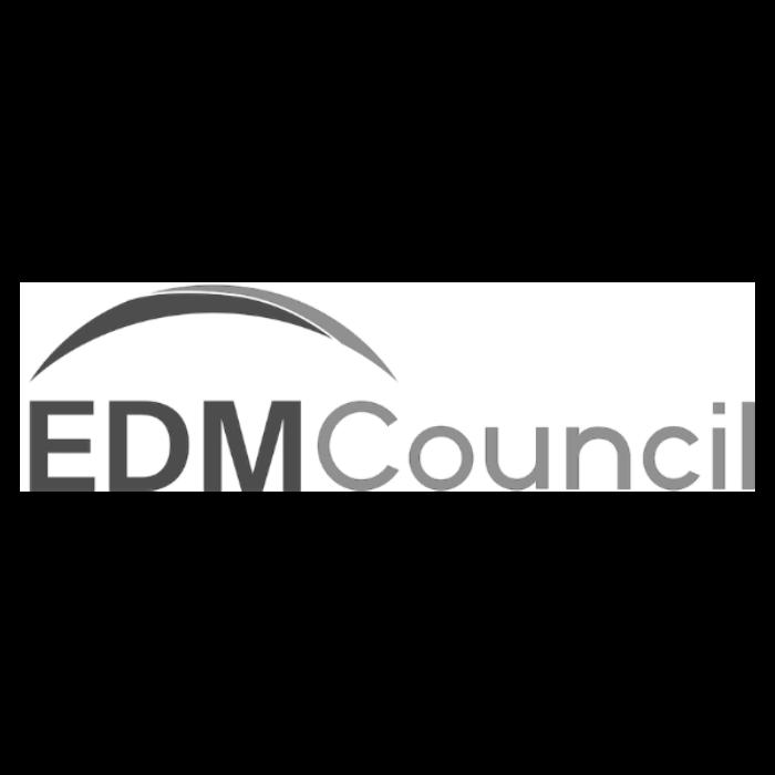 EDM Council Greyscale