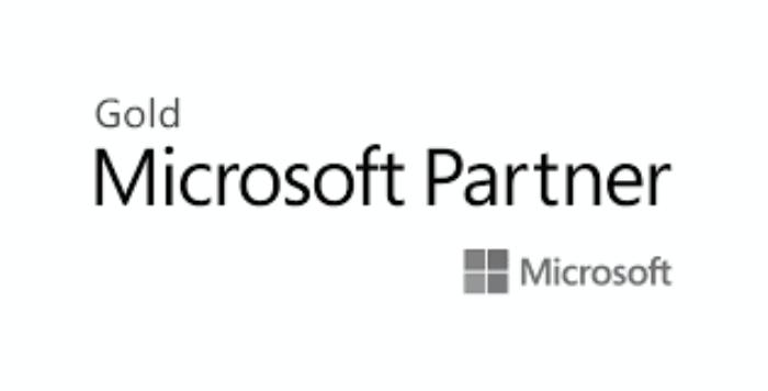 Microsoft Gold Partner Greyscale