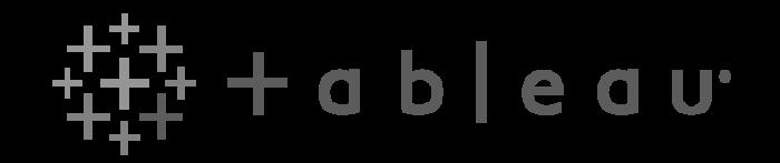Tableau Logo greyscale