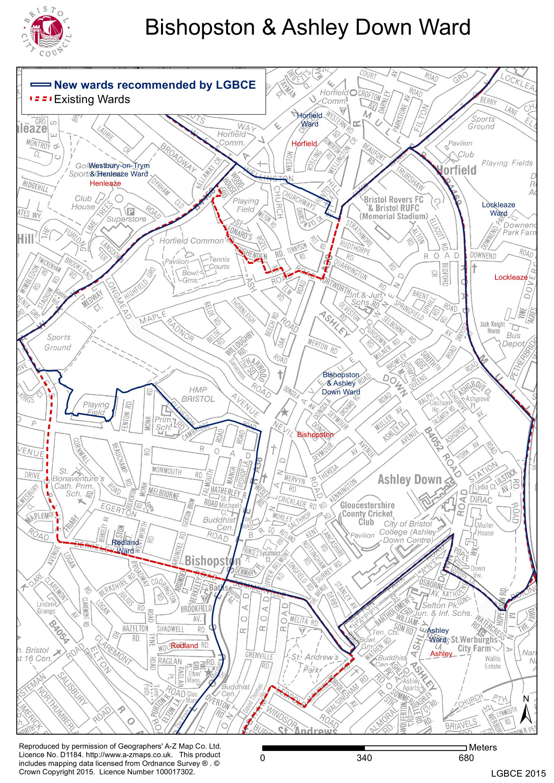 New ward boundaries