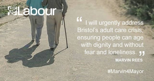 Marvin's pledge for older people