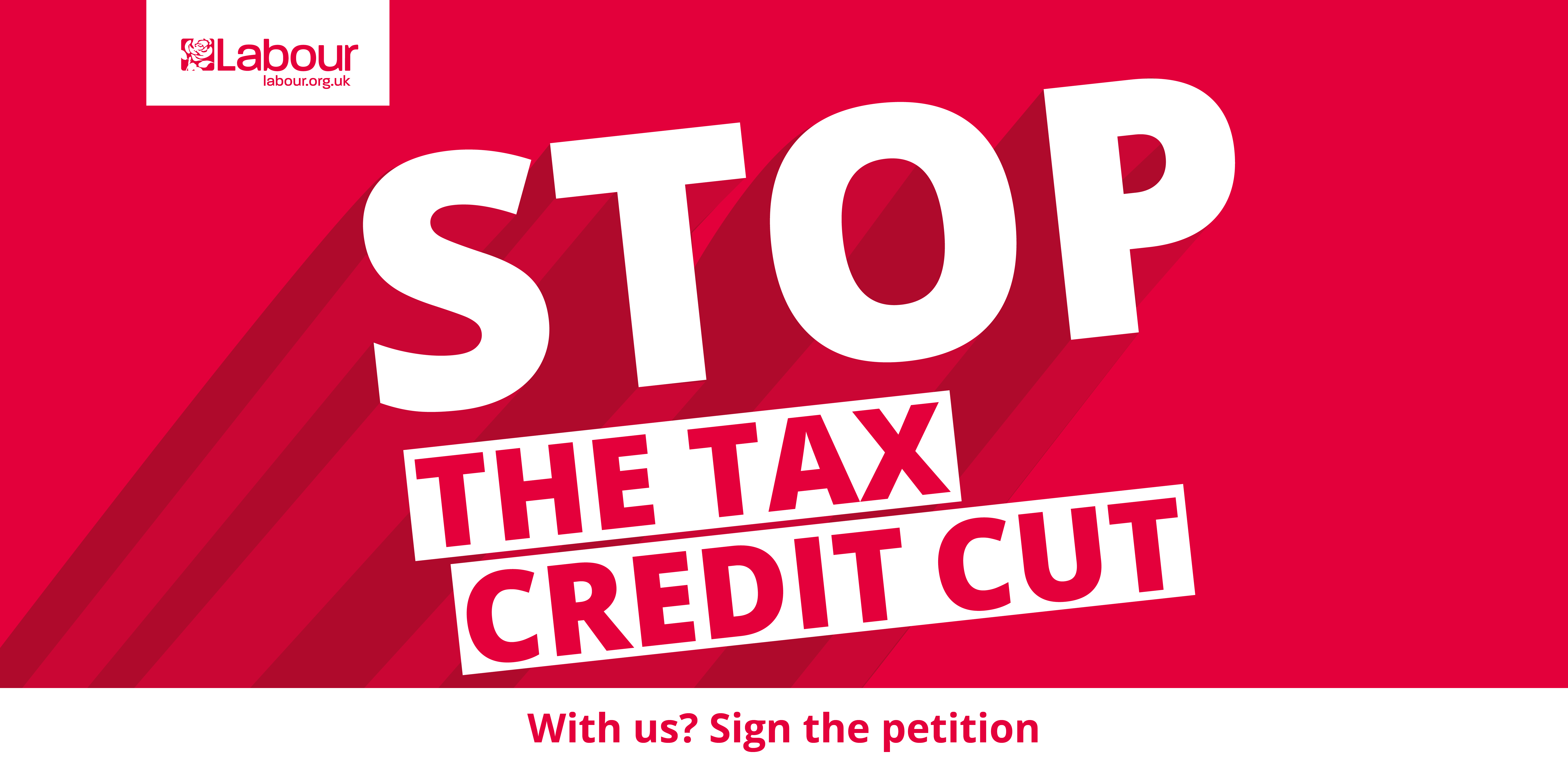 Stop the Tax Credit cut - are you in?