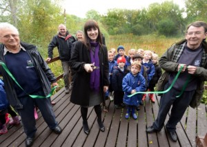 Bridget at Wearside nature reserve