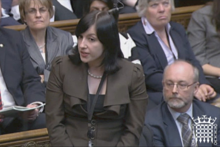 Bridget Phillipson MP standing up for Sunderland in Parliament