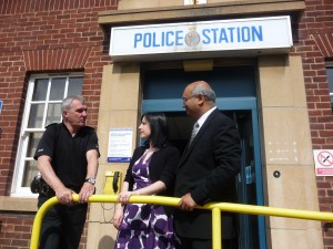 Bridget welcomes Keith Vaz to Houghton & Sunderland South