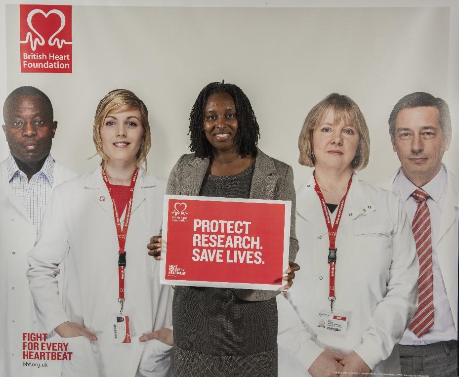 British Heart Foundation event