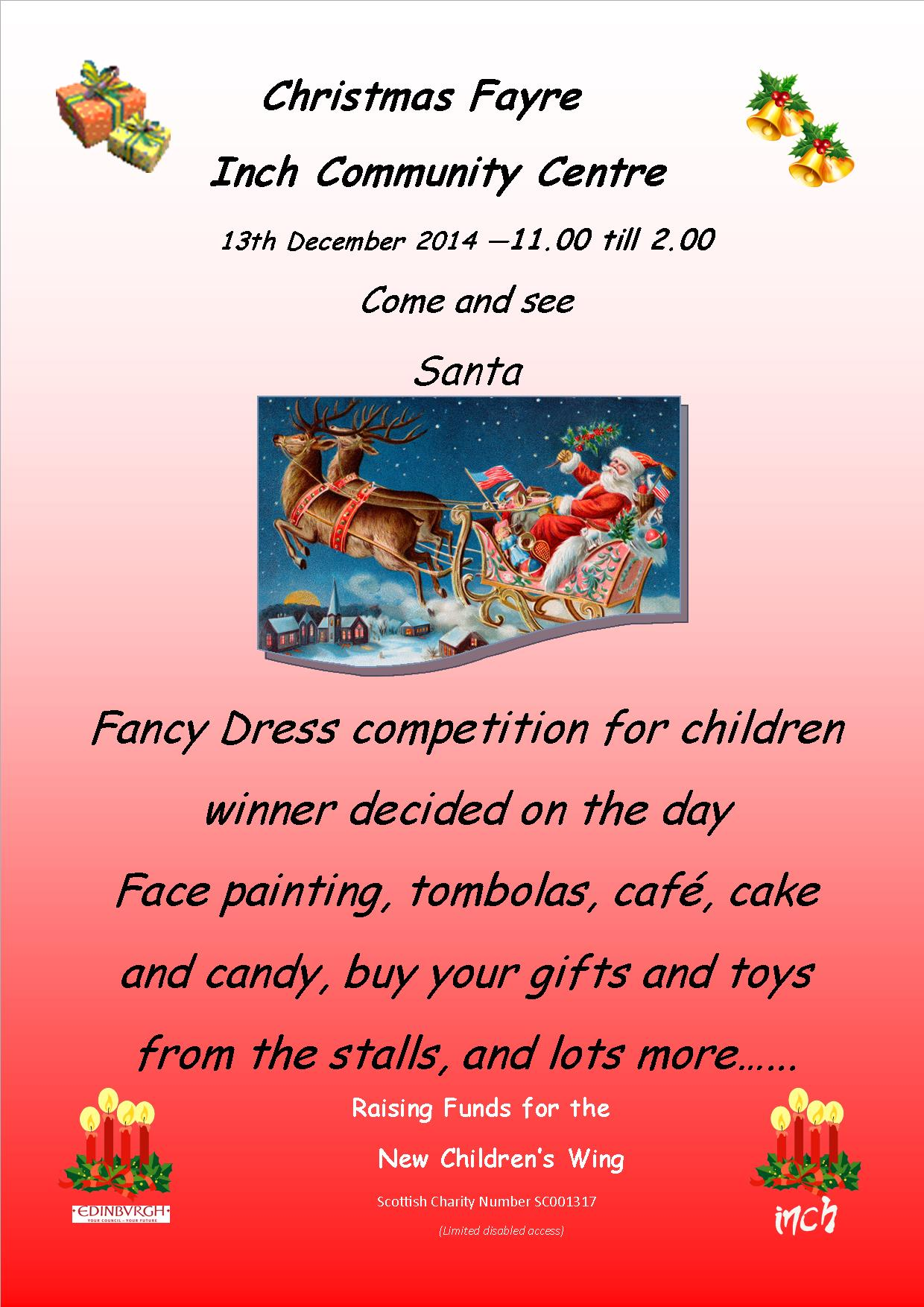 Christmas Fayre A4 Poster