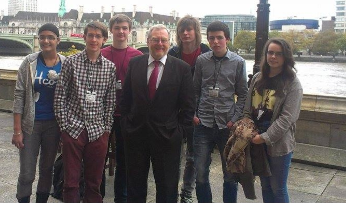 John Spellar MP with Students from KE