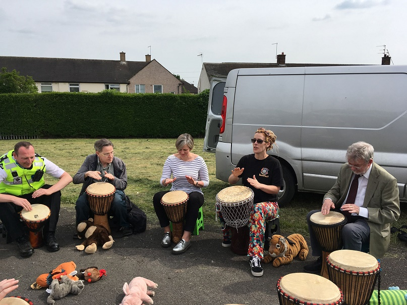 cllrs-lilian-and-jon-hartley-drumming.jpg