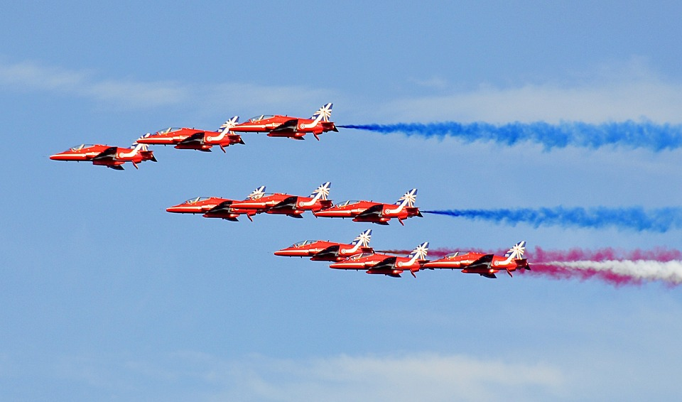 Luke backs new planes for the Red Arrows to save British