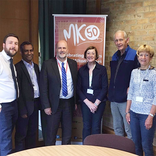 John Howarth meets MK Labour councillors