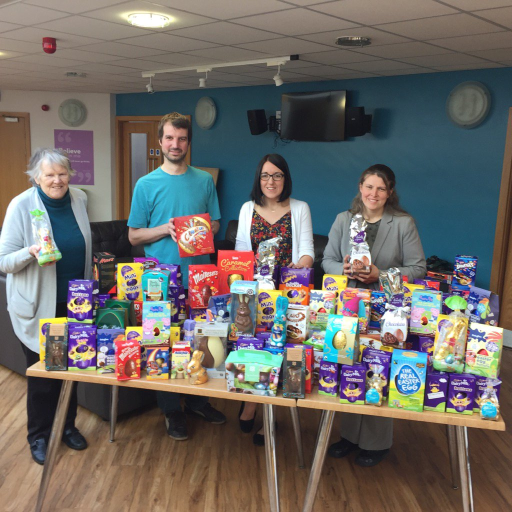Easter Egg Collection For York Foodbank Rachael Maskell