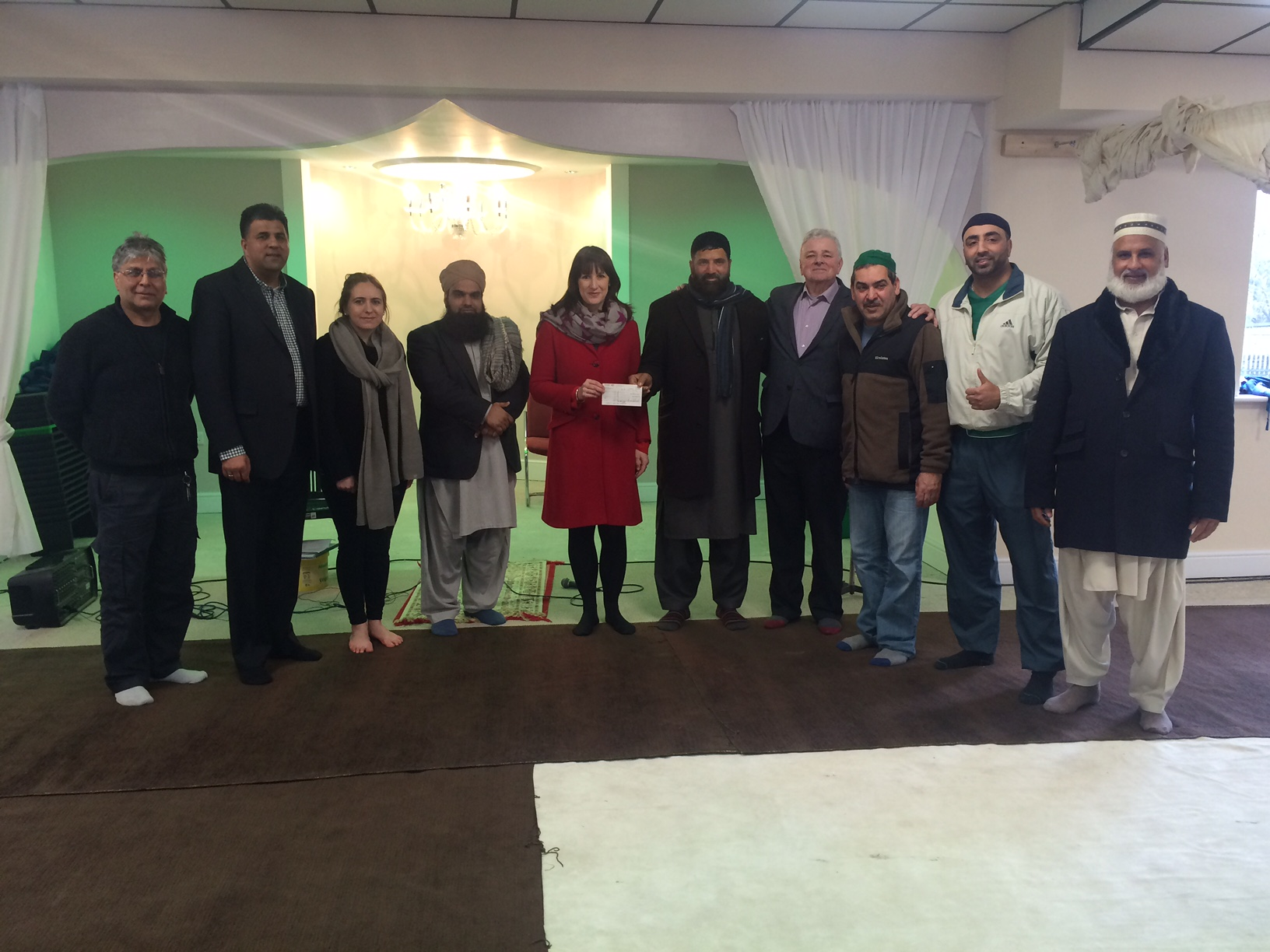 visit to armley mosque