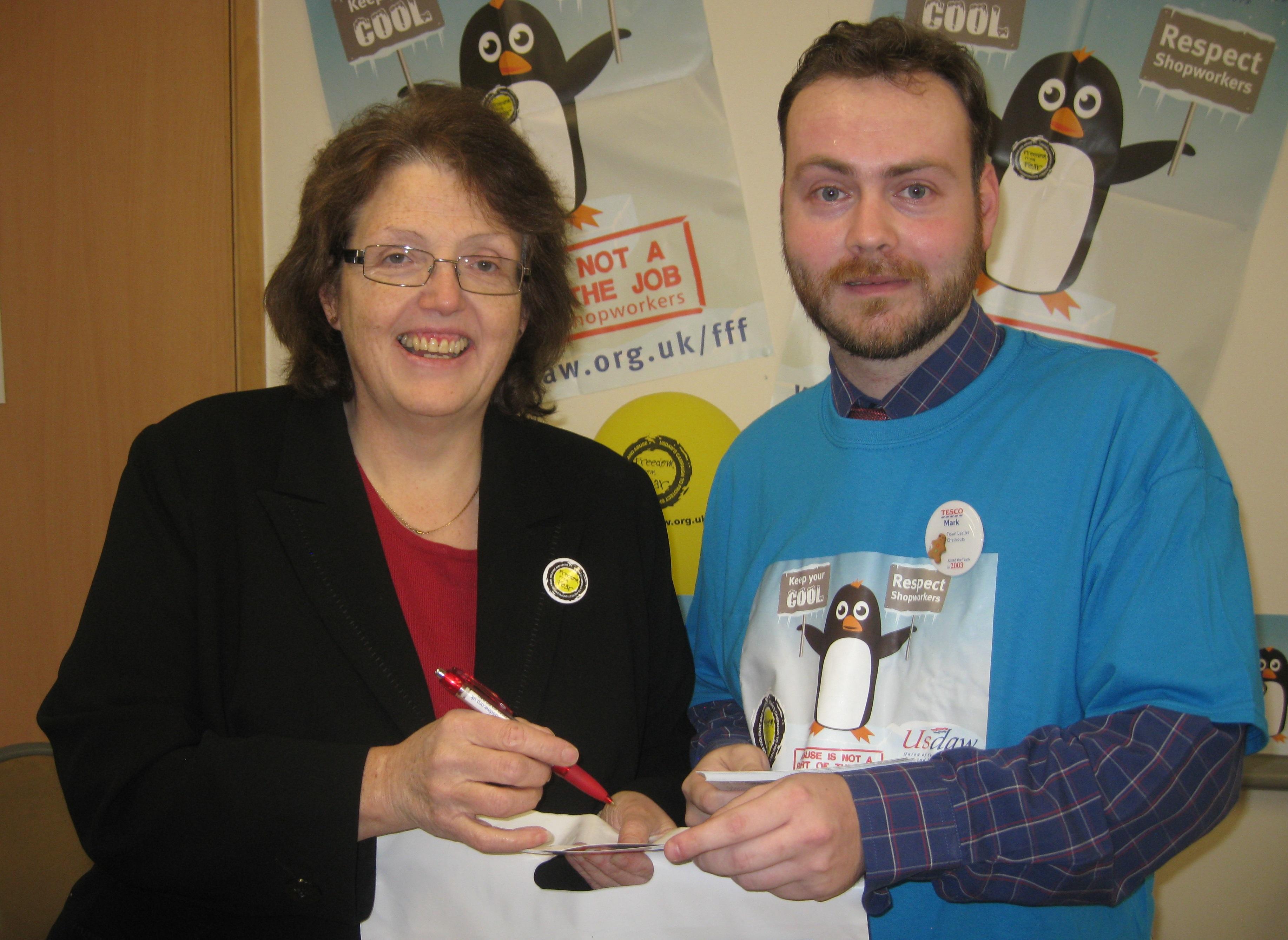 Rosie_Cooper_MP_with_Tesco_Burscough_Shop_Steward_Mark_Ainscough.jpg