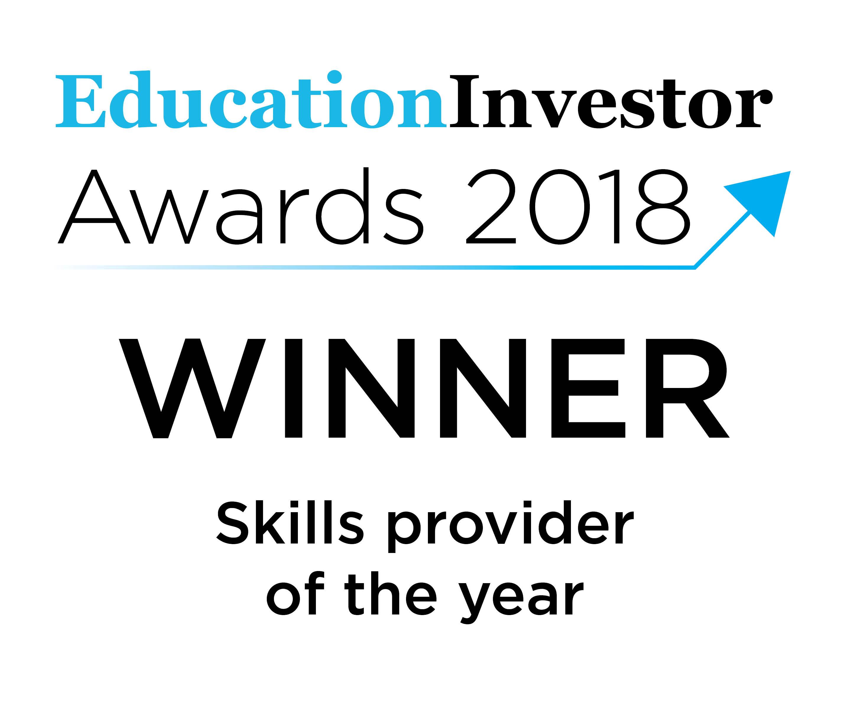 Education Investor Winner 2018