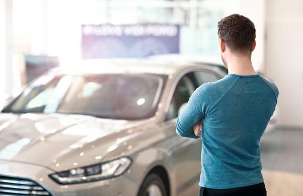 Choosing next car in showroom