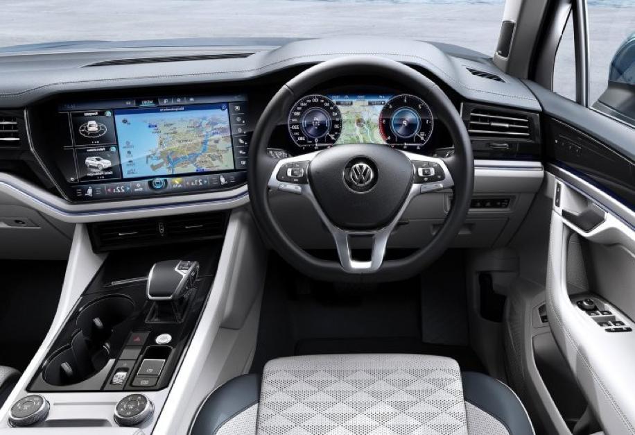 VW Touareg Dash