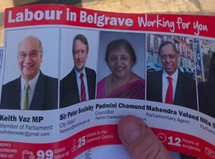Labour desperate for Leicester votes