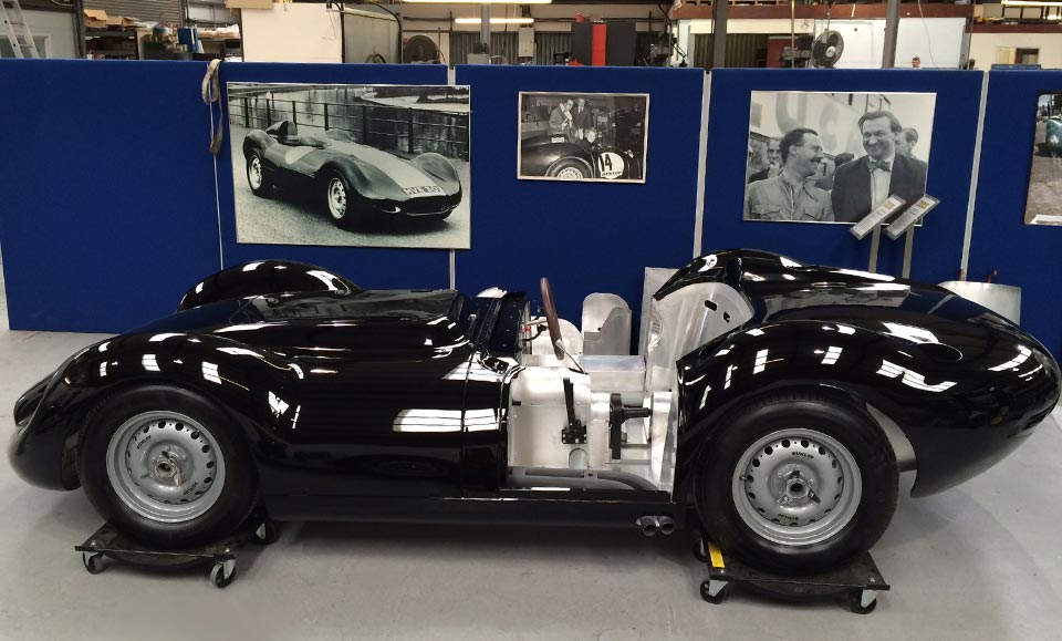 FIRST LISTER-JAGUAR BACK FROM THE PAINT SHOP!
