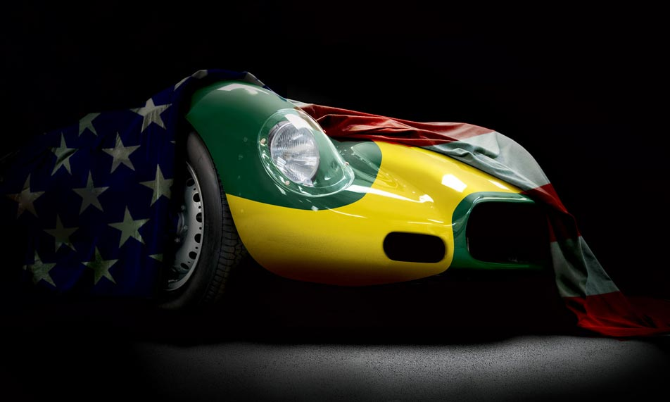 USA Launch of the Lister Knobbly Stirling Moss