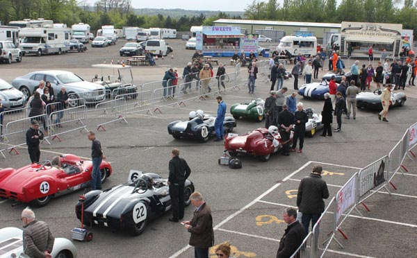 LISTER MODELS STEAL THE SHOW AT DONINGTON HISTORIC FESTIVAL