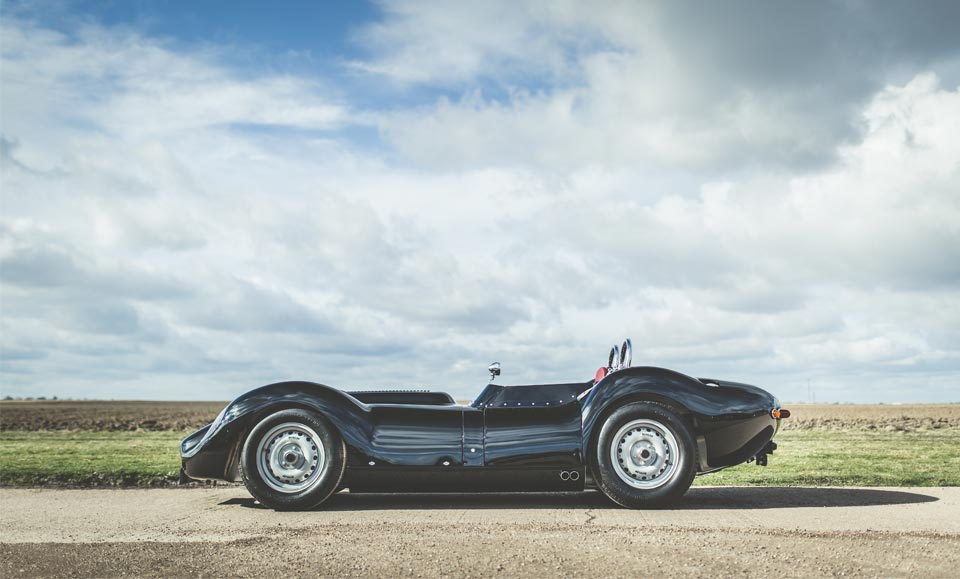 Continuation pioneer Lister introduces Knobbly to the road