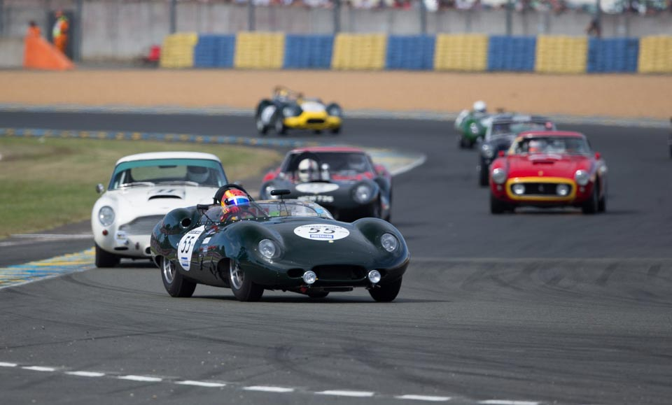Lister Lead the way at Le Mans Classic