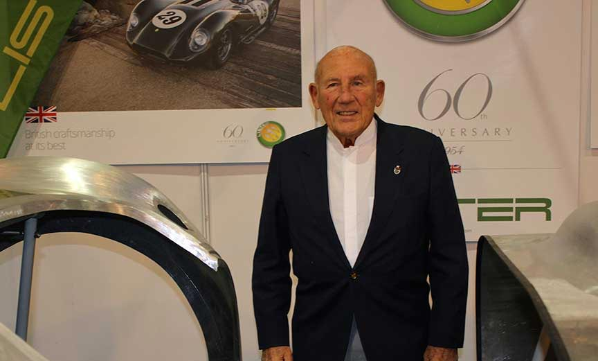 LISTER AT RACE RETRO 2014