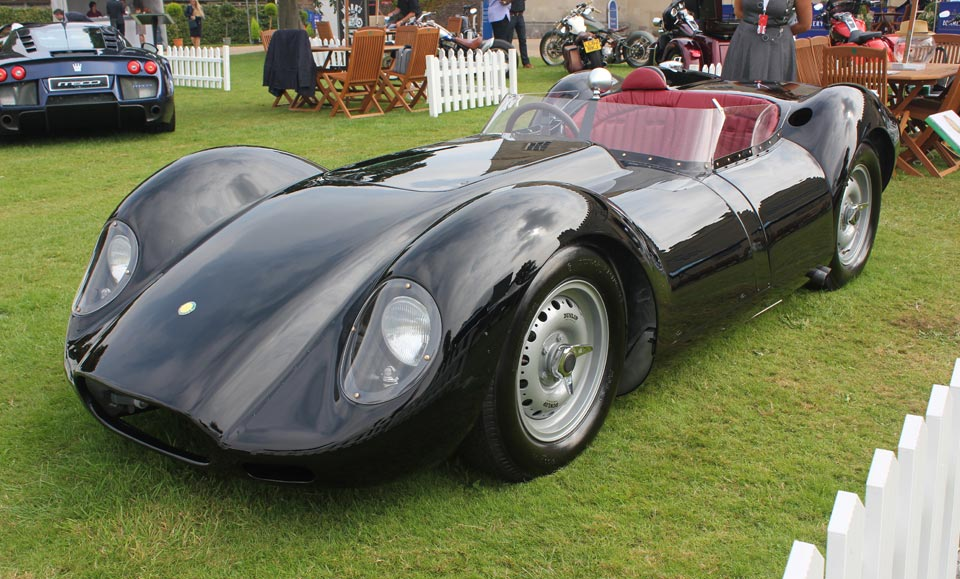 LISTER AT SALON PRIVE