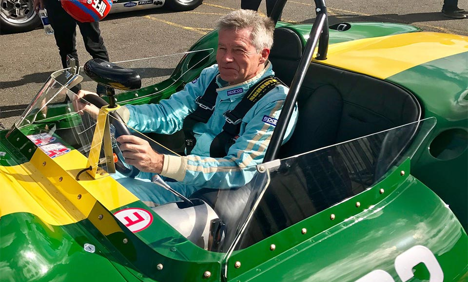 A winning weekend for Lister at Silverstone Classic 2017