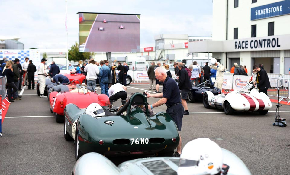 Lister Compete at Silverstone Classic