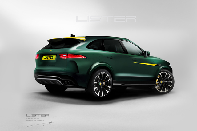 THE LISTER MOTOR COMPANY CONFIRMS THE LFP - THE WORLD'S FASTEST SUV