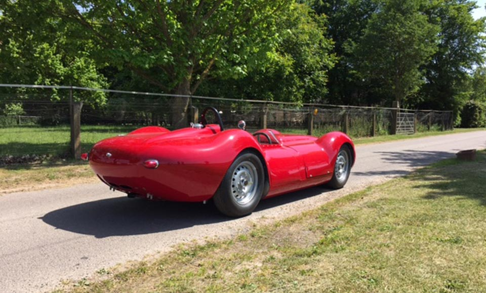 NEW RED CONTINUATION LISTER ROLLS OFF THE PRODUCTION LINE