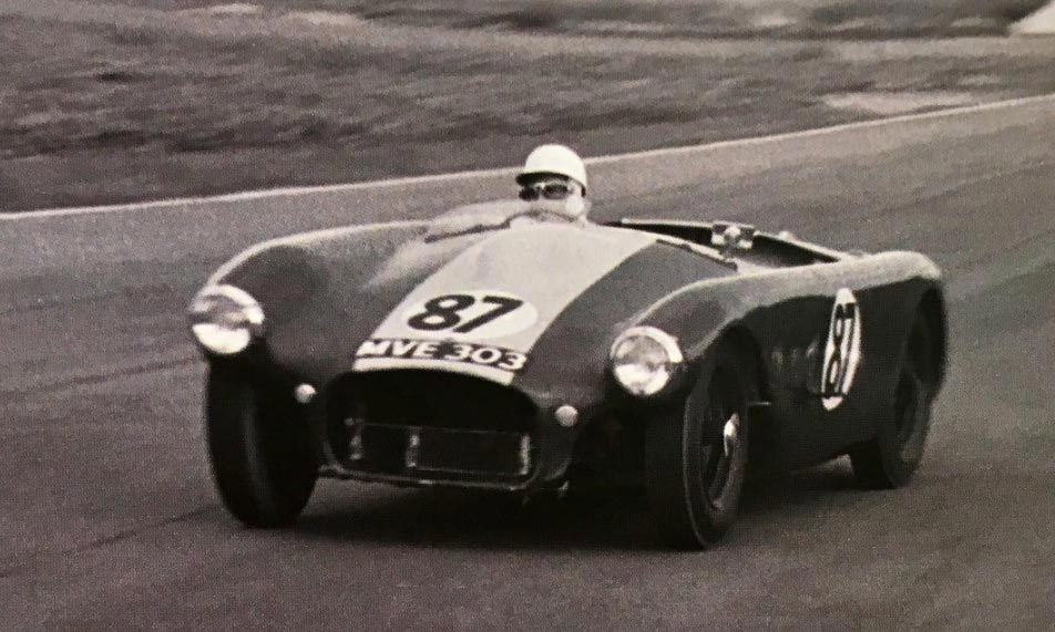 Stirling Moss Lister Debut - Goodwood 1954