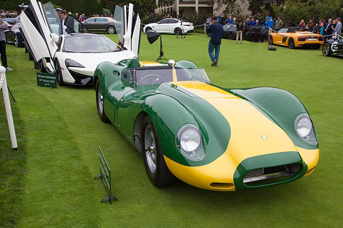Lister Knobbly Stirling Moss Edition Makes US Debut at Pebble Beach Concours D'elegance